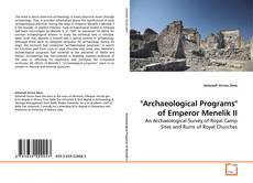 "Обложка ""Archaeological Programs"" of Emperor Menelik II"