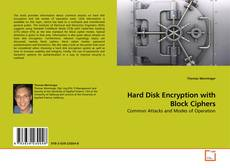 Bookcover of Hard Disk Encryption with Block Ciphers