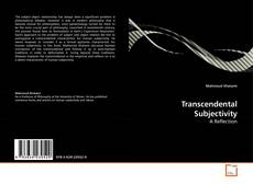 Bookcover of Transcendental Subjectivity
