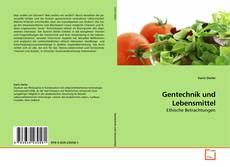 Обложка Gentechnik und Lebensmittel