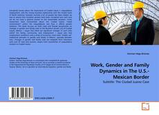 Bookcover of Work, Gender and Family Dynamics in The U.S.-Mexican Border