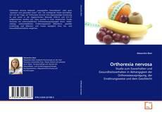 Portada del libro de Orthorexia nervosa