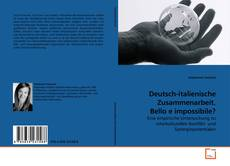 Buchcover von Deutsch-italienische Zusammenarbeit. Bello e impossibile?