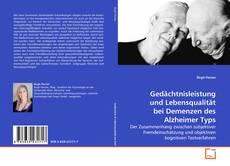 Portada del libro de Gedächtnisleistung und Lebensqualität bei Demenzen des Alzheimer Typs