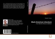 Bookcover of Black American Literature