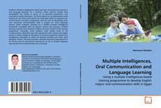 Capa do livro de Multiple Intelligences, Oral Communication and Language Learning