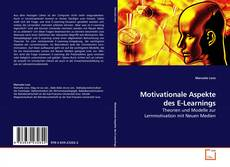 Bookcover of Motivationale Aspekte des E-Learnings