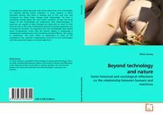 Buchcover von Beyond technology and nature
