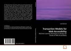 Couverture de Transaction Models for Web Accessibility
