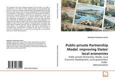Buchcover von Public-private Partnership Model: improving States' local economies