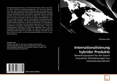 Buchcover von Internationalisierung hybrider Produkte
