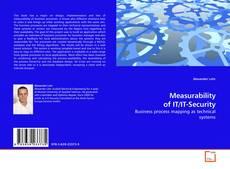 Measurability of IT/IT-Security kitap kapağı