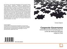 Portada del libro de Corporate Governance