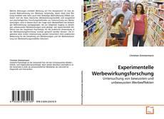 Capa do livro de Experimentelle Werbewirkungsforschung