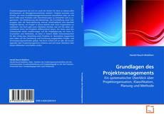 Copertina di Grundlagen des Projektmanagements