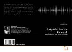 Buchcover von Postproduktion von Popmusik
