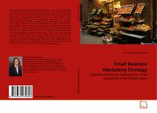 Portada del libro de Small Business Marketing Strategy