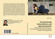 Buchcover von Transnationale Unternehmen und Menschenrechte
