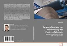 Buchcover von Potenzialanalyse zur Reduzierung der Papierabfallquote