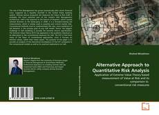 Bookcover of Alternative Approach to Quantitative Risk Analysis