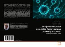Copertina di HIV prevalence and associated factors among University students: