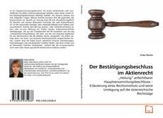 Buchcover von Der Bestätigungsbeschluss im Aktienrecht