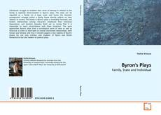Bookcover of Byron's Plays