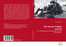 Bookcover of The Human Subject and Sin