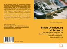 Bookcover of Soziale Unterstützung als Ressource