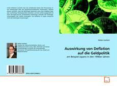 Portada del libro de Auswirkung von Deflation auf die Geldpolitik