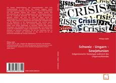 Schweiz - Ungarn - Sowjetunion的封面