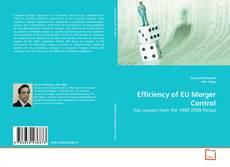 Copertina di Efficiency of EU Merger Control