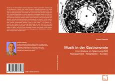 Buchcover von Musik in der Gastronomie