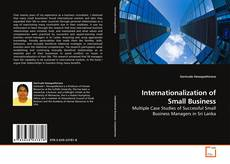 Bookcover of Internationalization of Small Business