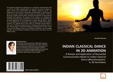Capa do livro de INDIAN CLASSICAL DANCE IN 3D ANIMATION