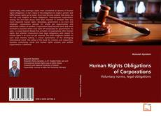 Bookcover of Human Rights Obligations of Corporations