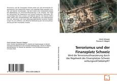 Buchcover von Terrorismus und der Finanzplatz Schweiz