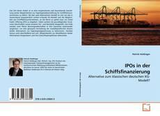 Capa do livro de IPOs in der Schiffsfinanzierung