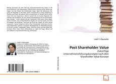 Copertina di Post Shareholder Value