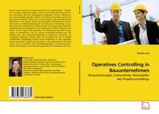 Buchcover von Operatives Controlling in Bauunternehmen