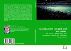 Bookcover of Management in Sport und Wirtschaft