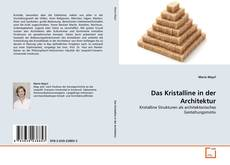 Обложка Das Kristalline in der Architektur