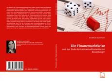 Bookcover of Die Finanzmarktkrise