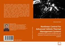 Bookcover of Nonlinear Control for Advanced Vehicle Thermal Management Systems