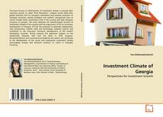 Bookcover of Investment Climate of Georgia