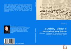 E-Glossary - Glossar in einem eLearning System kitap kapağı