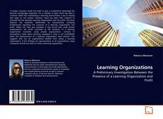 Bookcover of Learning Organizations