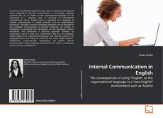 Bookcover of Internal Communication in English
