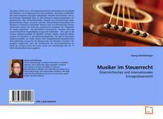 Bookcover of Musiker im Steuerrecht