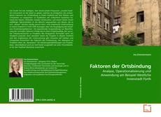 Buchcover von Faktoren der Ortsbindung